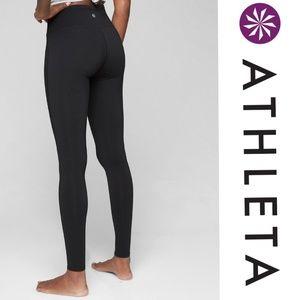 Athleta High Rise Chaturanga Black Pants Size S